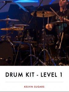 Beginner Drum Kit - Level 1 Book Available from kelvinsugars.com