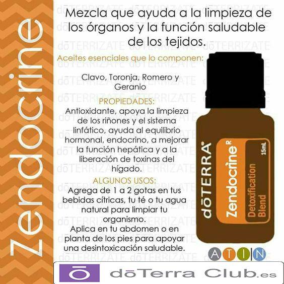 DoTerra Club Blog: Zendocrine y Desintoxicate...