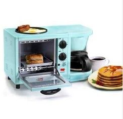 I love this!!!Fun College Supply - 3-in-1 Multifunction Breakfast Deluxe - Aqua - Makes Quick Dorm Meals