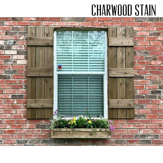 Best 25 wood shutters ideas on pinterest diy exterior for Brick houses without shutters