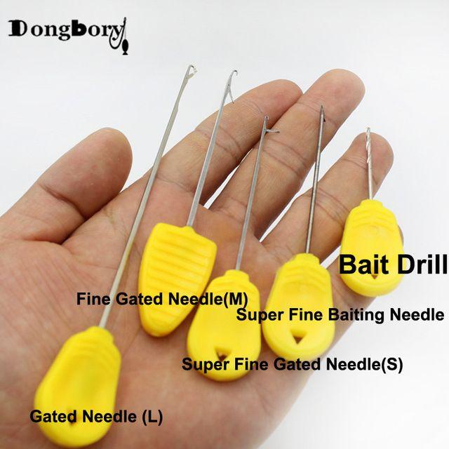 Carp Fishing Baiting Rig Tool Fishing Rigging Needle for Lure Bait Rig Making