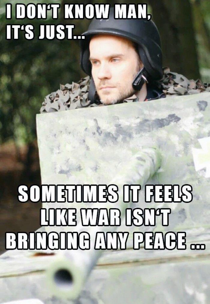 Panzer zu sein ist nicht leicht