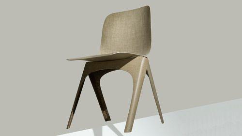 Larevuedudesign-assise-biodegradable-Design-Academy-Eindhoven-designer-Christien-Meindertsma-Dutch-Design-Week-chaise-Flax-Label-Breed-lin-01