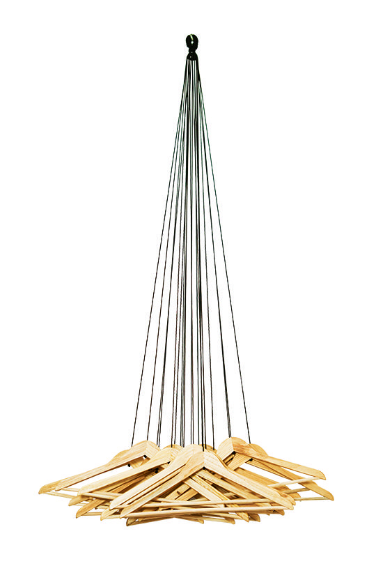 Garderobe 20 Hangers « Seil, Garderobe, Kleiderbügeln, Rosignoli, Alice, Designerfantasie « Heiter bis glücklich