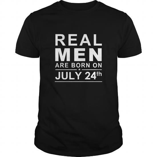 I Love 0724 July 24 Birthday Born Real Men Shirts Guys tee ladies tee youth Sweat Hoodie Vneck Tank top Tshirts for Girl and Men and Family T shirts
