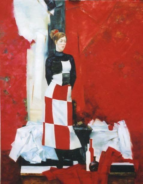 Artist Olga Larionova via Anwar Nada