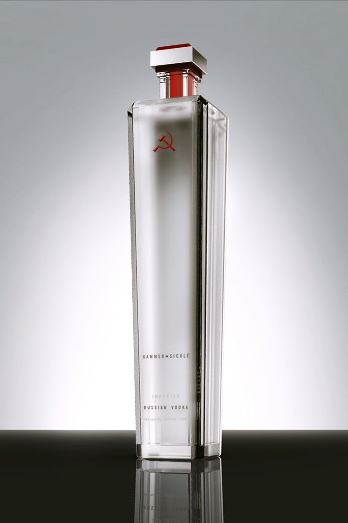 Hammer & Sickle Vodka - The Dieline -