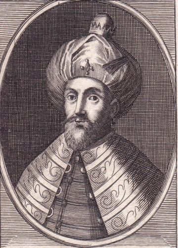 Portrait-XVIIIe-Mehmed-III-Turquie-Turkey-Ottoman-Empire-1689