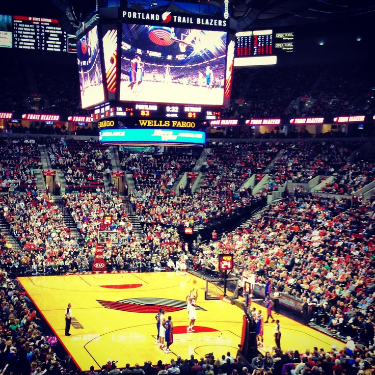 Portland Trail Blazers Stadium: 19 Best Joel Freeland Images On Pinterest