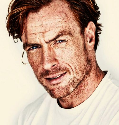 "Toby Stephens as Loki, God of Mischief. Very, very used to the question ""NOW what did you do?"""