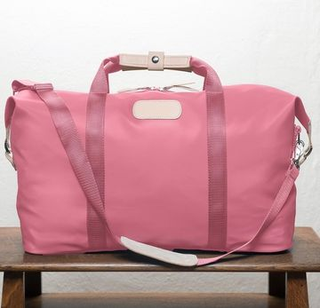 Jon Hart Weekender Fuchsia Coated Canvas I Took Only This Bag For A Week In
