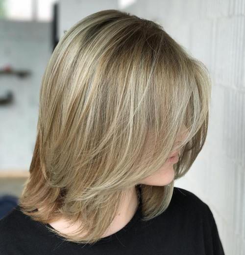 Long bob frisuren fur dunnes haar