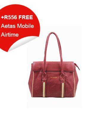Black Cherry Burgundy & Honey Bag