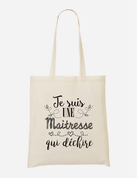 Cadeau Maitresse Reusable Drawstring bag Tote Bag Maitresse en vacances Ne Pas Deranger