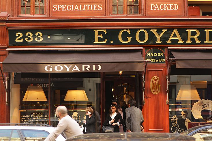 Maison E. Goyard — Paris in Four Months
