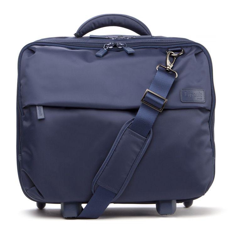 Lipault - Plume Business Navy Blue Rolling Tote Bag | Peter's of Kensington