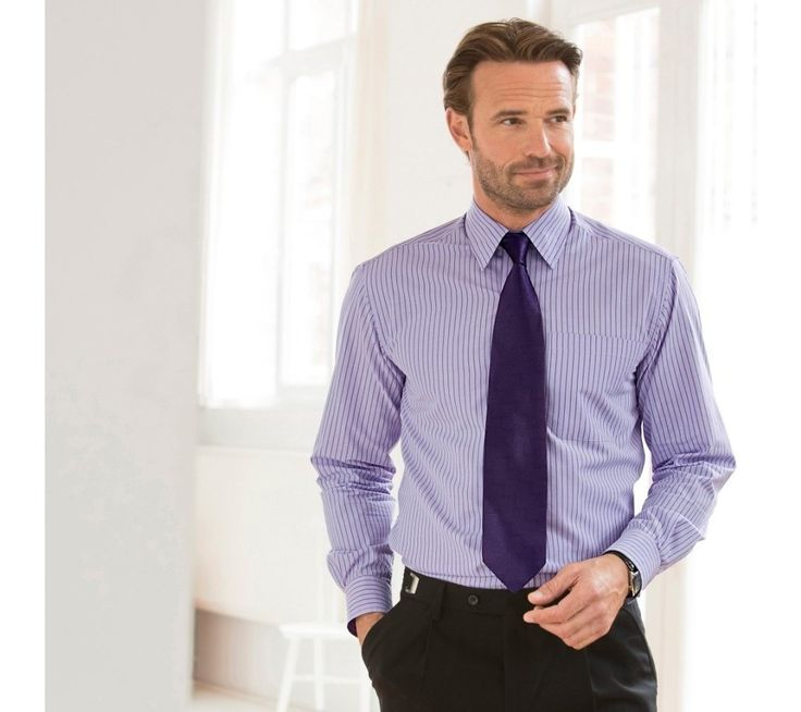 Košile s dlouhými rukávy + kravata | blancheporte.cz #blancheporte #blancheporteCZ #blancheporte_cz #panskamoda