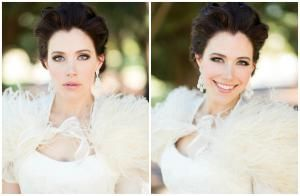 2015 Bridal Hairstyle Trends on Real Brides: Stunning Bridal Updo