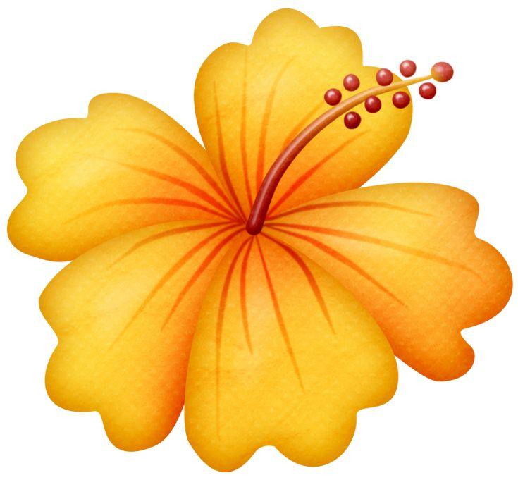 Flores animadas infantiles con colores - Imagui