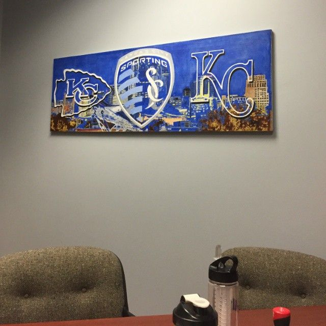 Best Kansas City Painted Pretty Images On Pinterest Kansas - Sporting kc wall decals