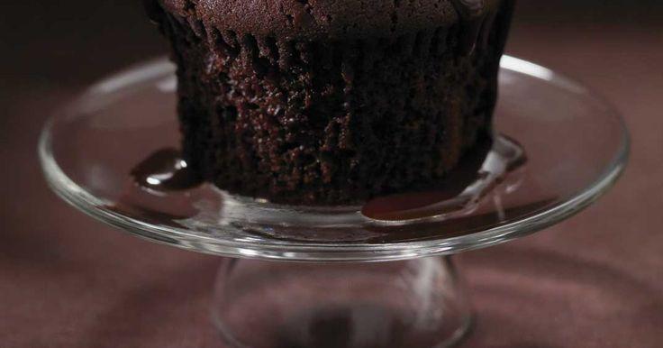 Cupcakes triple chocolat