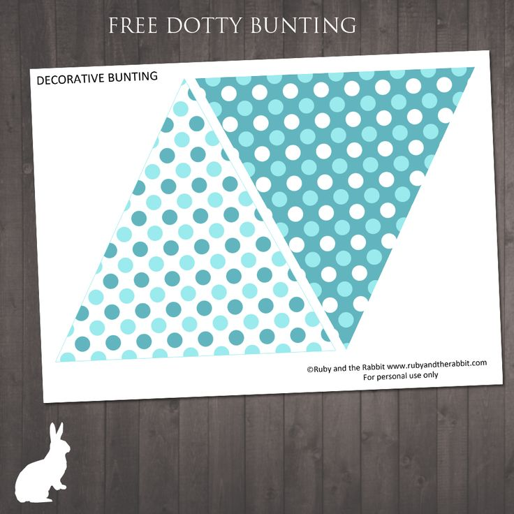 Ruby and the Rabbit   Free Party Printables
