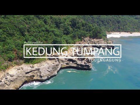 Pantai Kedung Tumpang Dengan Kolam Alami yang Indah di Tulungagung - Jawa Timur