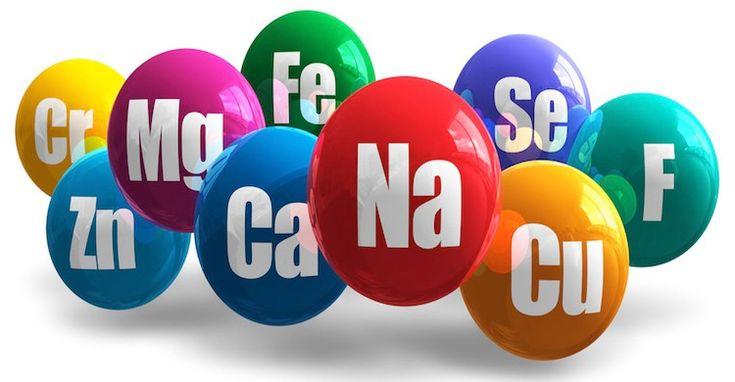 Τα μέταλλα είναι απαραίτητα θρεπτικά συστατικά που υπάρχουν στον οργανισμό σε μεγάλες ποσότητες, ενώ τα ιχνοστοιχεία είναι λιγότερο