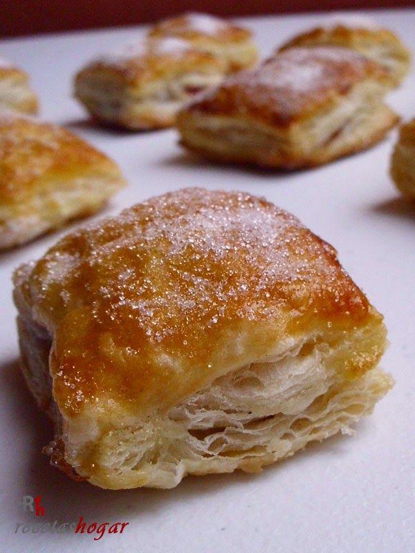 Pasteles de hojaldre de dulce de guayaba