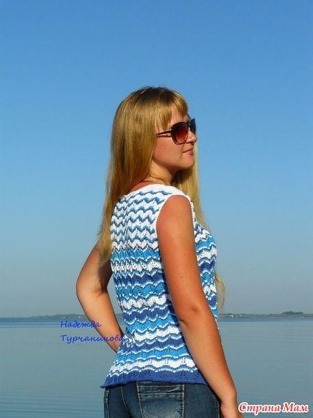 Здравствуйте!!!  Сегодня я к Вам с обновкой для дочери.. Недавно показывала своё платье миссони http://www.stranamam.ru/  думала, что этот узор больше вязать не буду,