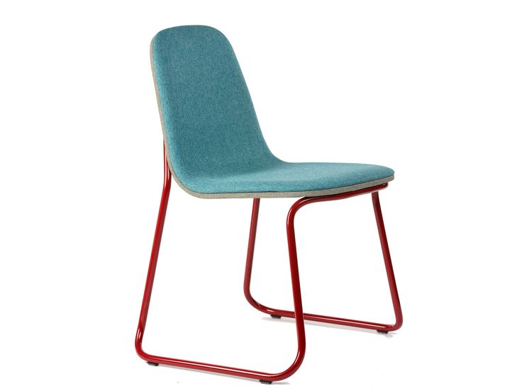 SIREN Chaise en tissu by bogaerts label design Jacob Nitz