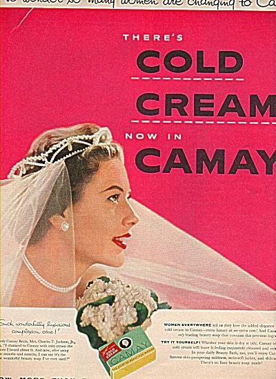 Camay soap ad -1954 MRS. CHARLES JACKSON (Image1)