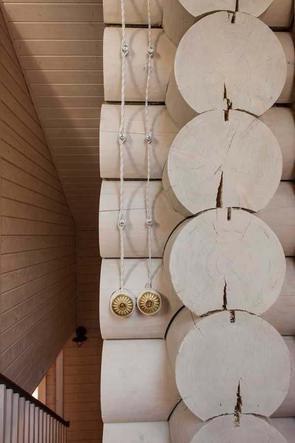 Великолепный деревянный дом в Подмосковье   Пуфик - блог о дизайне интерьера