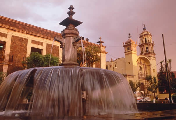 Fountain in Toluca - Mexico