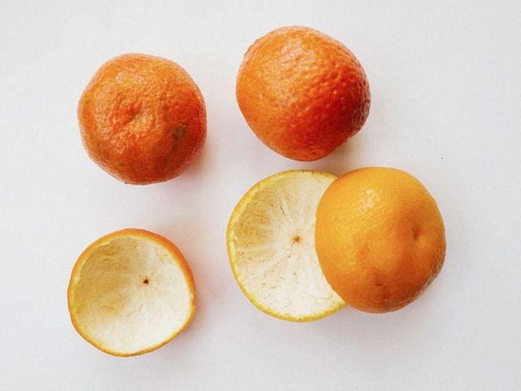 Tutorial fai da te: Come fare una candela nella buccia di un mandarino via DaWanda.com