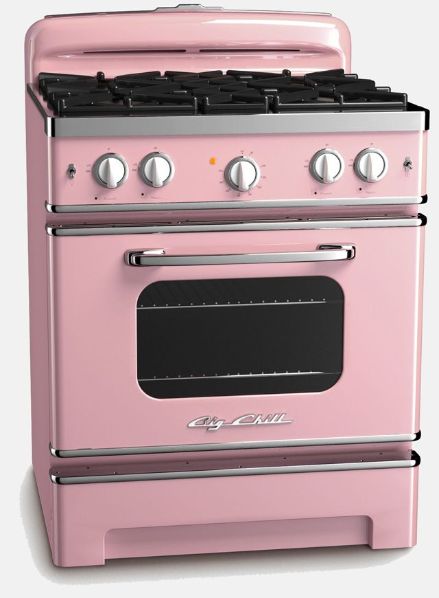 what wouldn't taste better if it was made on a pink stove?