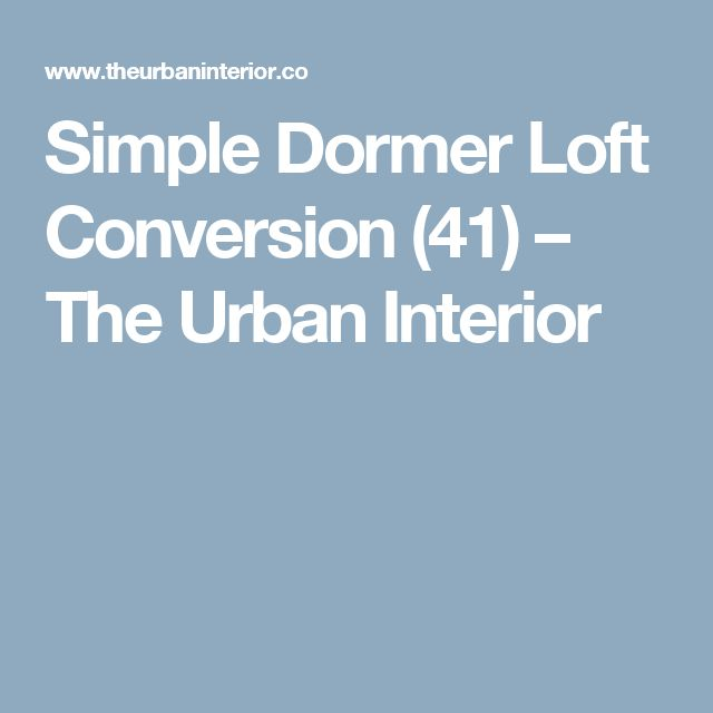 Simple Dormer Loft Conversion (41) – The Urban Interior