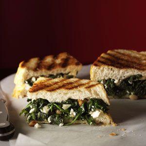 Greek Sandwich Bites from Taste of Home Healthy Cooking magazine (June/July 2011)