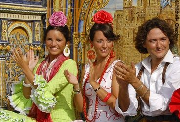 Festivals and Fiestas in Andalucia, in the South of Spain. Besides the national fiestas, each town has its own festivities. So there are always parties going on with a lot of Spanish dance and beautifully dressed dancers. http://spanishschoolherradura.blogspot.com.es