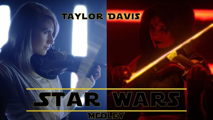 Star Wars Medley (Violin Cover) - Taylor Davis<<<<this is absolutely amazing!!!