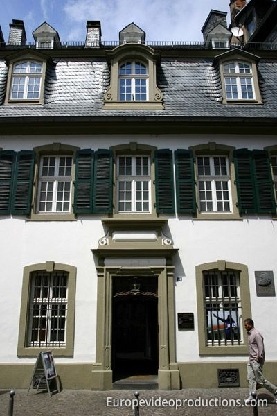 House of Karl Marx Trier in Germany