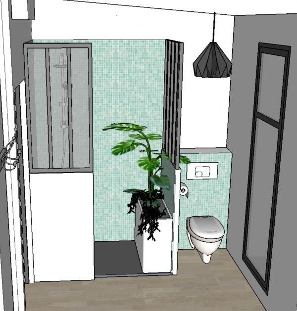 Travaux salle de bain / Lejardindeclaire