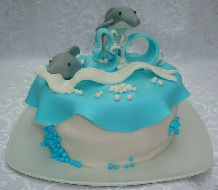 Dolphin Cake! Want!!!