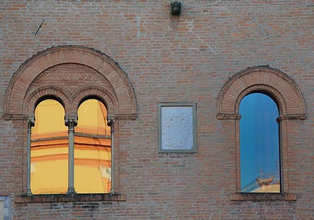 Windows of the Palazzo del Governatore