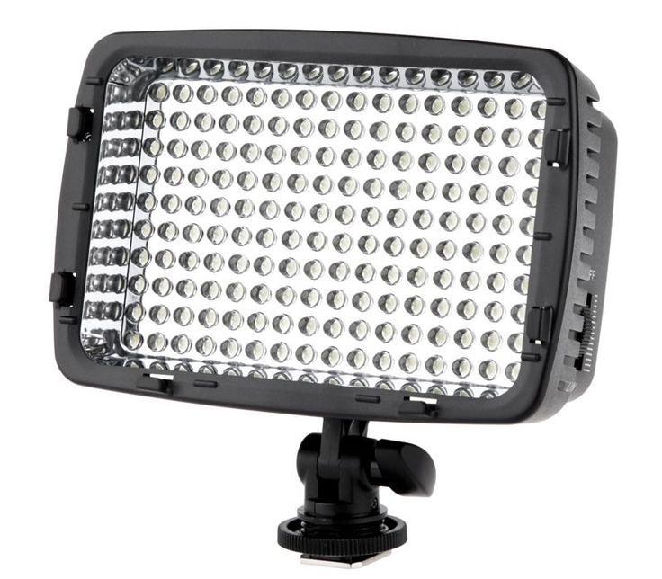 Майке 160 LED Видео Фото Свет DV Видеокамер Освещение Для цифровой зеркальный фотоаппарат canon nikon Panasonic