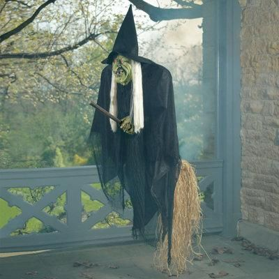Halloween decorations : IDEAS & INSPIRATIONS  Flying Halloween Witch