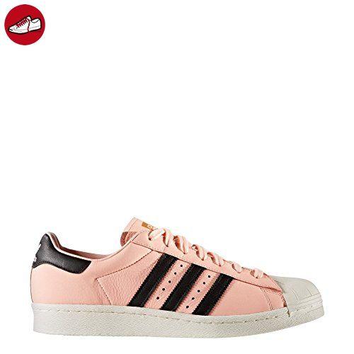 adidas Schuhe – Superstar koralle/schwarz/weiß Größe: 41 1/3 - Adidas sneaker (*Partner-Link)