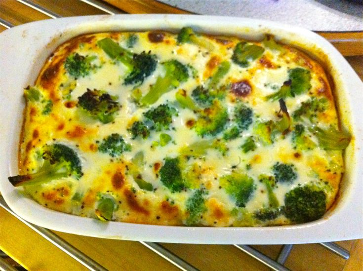 Fast And Easy Dinner Recipe, Broccoli Casserole!