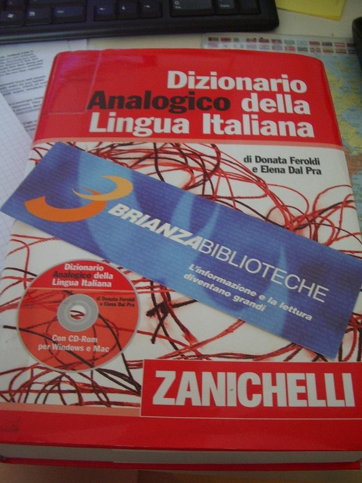 Dizionario analogico della lingua italiana - Zanichelli