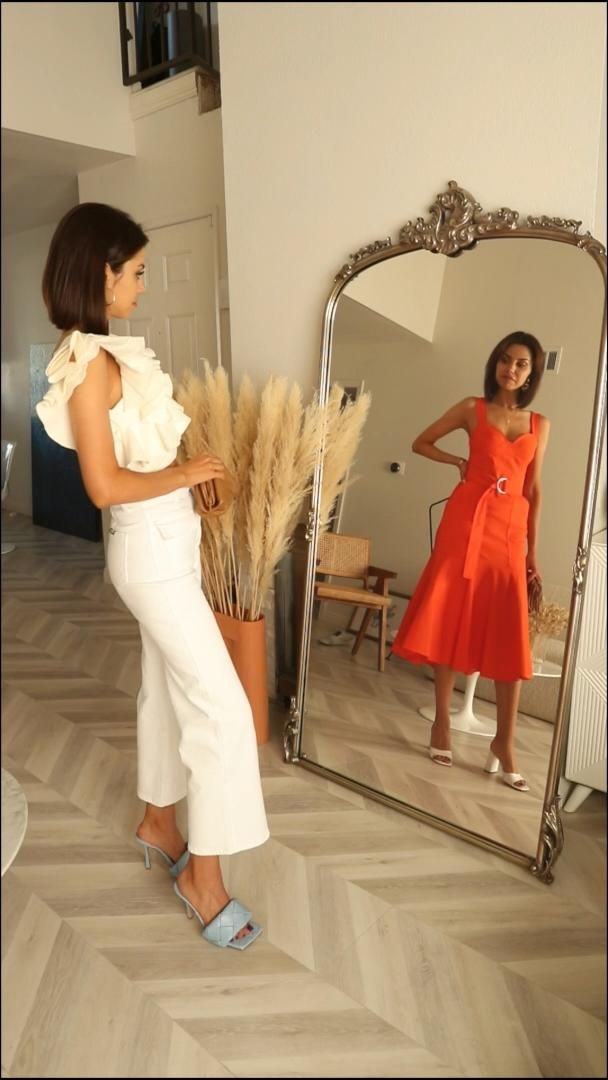 Sunset Palette Vivaluxury Video Video Bright Color Dresses Style Inspiration Summer Wedding Dresses Videos
